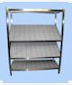 etagere inox inclinee