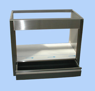 fabricant meuble inox pour four